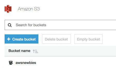 S3 Bucket AWSNEWBIES